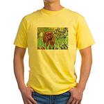 Irises & Ruby Cavalier Yellow T-Shirt