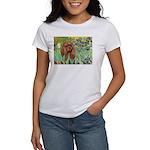 Irises & Ruby Cavalier Women's T-Shirt