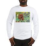 Irises & Ruby Cavalier Long Sleeve T-Shirt