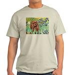 Irises & Ruby Cavalier Light T-Shirt