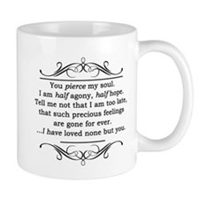 Persuasion Quote Jane Austen Mugs