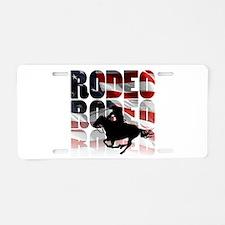 rodeo-44 Aluminum License Plate