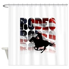 rodeo-44 Shower Curtain