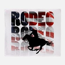 rodeo-44 Throw Blanket