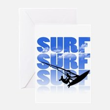 windsurfer Greeting Cards