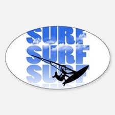 windsurfer Decal