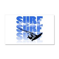 windsurfer Car Magnet 20 x 12