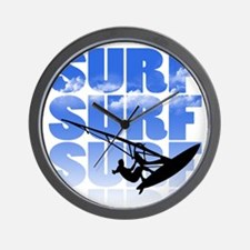 windsurfer Wall Clock