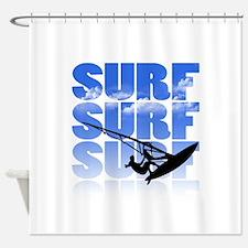 windsurfer Shower Curtain