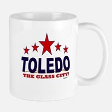 Toledo The Glass City Mug