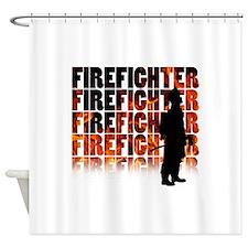 firefighter-097 Shower Curtain