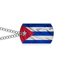 Cuban Flag Dog Tags