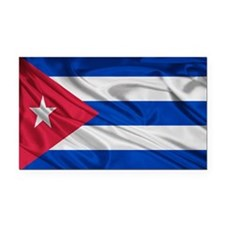 Cuban Flag Rectangle Car Magnet