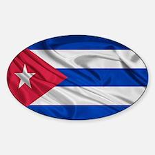 Cuban Flag Decal
