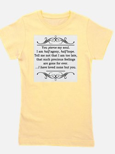 Persuasion, Jane Austen Girl's Tee