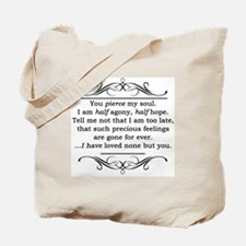 Persuasion, Jane Austen Tote Bag