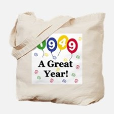 1949 A Great Year Tote Bag