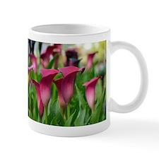 Pink calla lily flowers Mugs