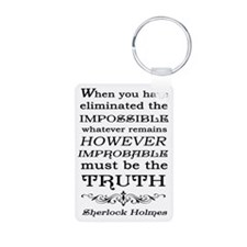 Sherlock Holmes Impossible Keychains