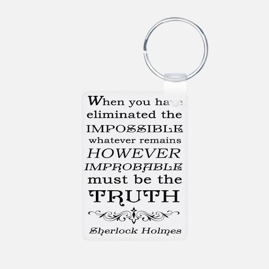 Sherlock Holmes Impossible Keychains