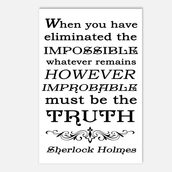 Sherlock Holmes Impossibl Postcards (Package of 8)