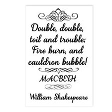 Macbeth Shakespeare Witch Postcards (Package of 8)