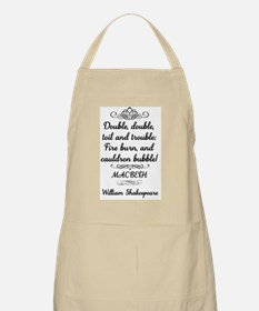 Macbeth Shakespeare Witches Apron