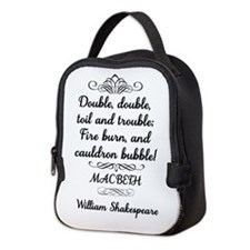 Cool Shakespeare macbeth Neoprene Lunch Bag