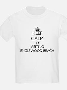 Keep calm by visiting Englewood Beach Florida T-Sh
