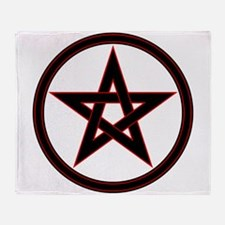 pentacle pentagram Throw Blanket