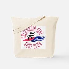 California Girl Surf Club Tote Bag