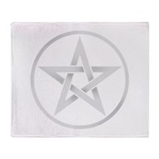 Funny Pentagram Throw Blanket