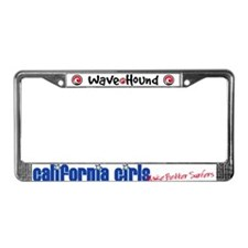 California Girls Make Better Surfers License Plate