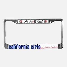 California Girls Make Better Surfers License Plate