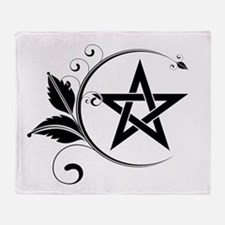 Unique Pentagram Throw Blanket
