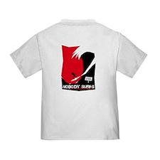 Nobody Surfs Like a California Girl Infant T-Shirt