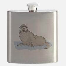 Sea Lion Flask