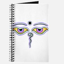 Funny Buddha eyes Journal