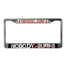 Nobody Surfs Like a California Girl License Plate