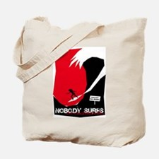 Nobody Surfs Like a California Girl Tote Bag