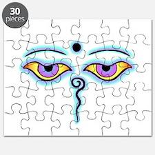 Unique Buddha eyes Puzzle