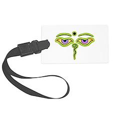 Cute Eye Luggage Tag