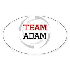 Adam Oval Decal