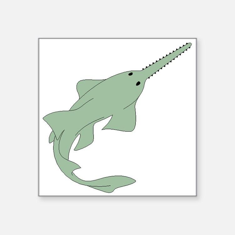 Sawfish Sticker