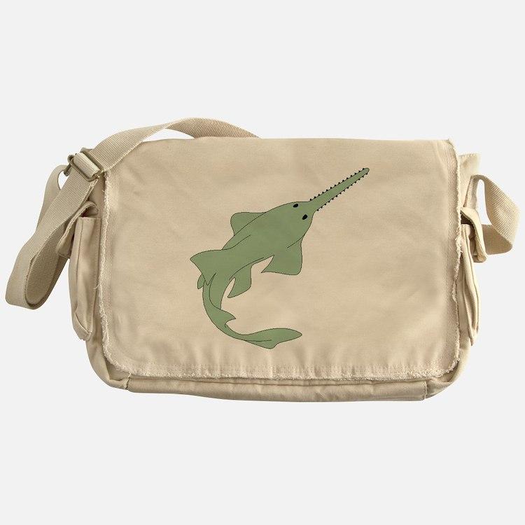 Sawfish Messenger Bag