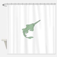 Sawfish Shower Curtain