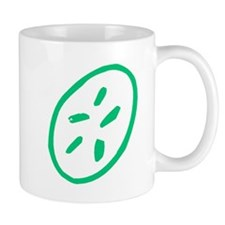 Green Sand Dollar Mugs