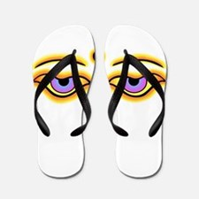 Cool Buddha eyes Flip Flops
