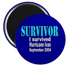 Hurricane Ivan Survivor Magnet