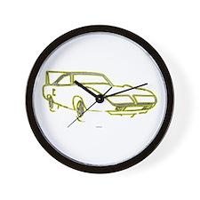 Winged Warrior Wall Clock